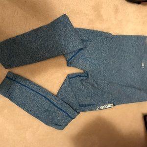 Gymshark Blue Seamless Leggings